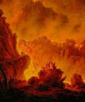 Michael Wutky - Eruption of Vesuvius