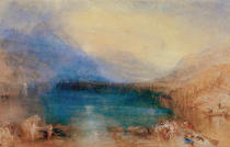 Joseph Mallord William Turner - The Lake of Zug: early Morning