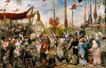 Alfred-Philippe Roll - The 14th July 1880