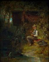 Carl Spitzweg - The Angler