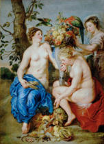 Peter Paul Rubens - Ceres with two nymphs