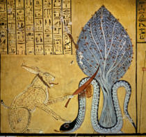 Ägyptische Malerei - Tomb of Sennedjem / Egyptian painting