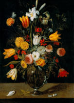 Josefa de Ayala y Cabrera - Stilllife with flowers in a vase