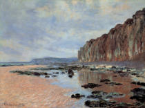 Claude Monet - Low tide near Varengeville