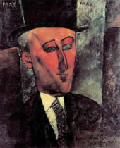 Amedeo Modigliani - Portrait de Max Jacob