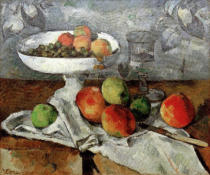 Paul Cézanne - Nature morte au compotier