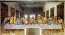 Leonardo da Vinci - The Last Supper (lighter)
