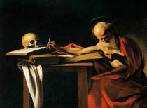 Michelangelo Merisi da Caravaggio - St. Jerome writing