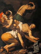Michelangelo Merisi da Caravaggio - The Crucifixion of St.Peter