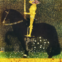 Gustav Klimt - Life a battle (Knight) / 1903