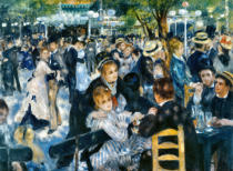 Pierre Auguste Renoir - Ball am Moulin de la Galette