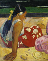 Paul Gauguin - Frauen auf Tahiti (links)