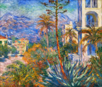 Claude Monet - Die Villen in Bordighera