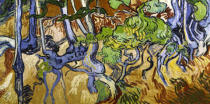 Vincent van Gogh - Tree roots and tree trunks