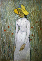 Vincent van Gogh - Girl in White, 1890