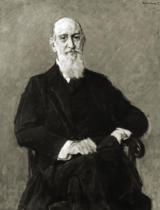 Max Liebermann - James Israel / Portrait