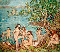 Maurice Brazil Prendergast - Bathers by the Sea