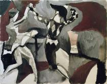 August Macke - Dancer