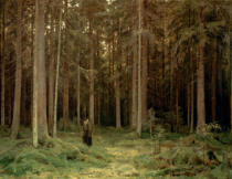 Iwan Iwanowitsch Schischkin - In Countess Mordvinova's Forest. Petrodvorez.