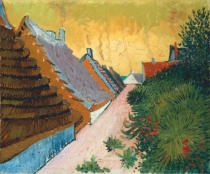 Vincent van Gogh - Gasse in Saintes-Maries