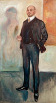 Edvard Munch - Walther Rathenau II