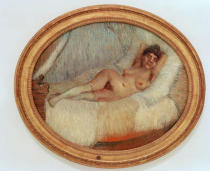 Vincent van Gogh - Female nude on a bed