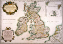 AKG Anonymous - British Isles / Map c. 1650