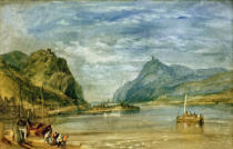 Joseph Mallord William Turner - Rolandseck, Nonnenwerth und Drachenfels