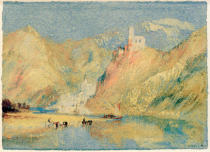 Joseph Mallord William Turner - Beilstein und Burg Metternich