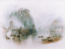 Joseph Mallord William Turner - Burgen am Rhein