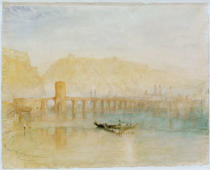 Joseph Mallord William Turner - Moselbrücke in Koblenz