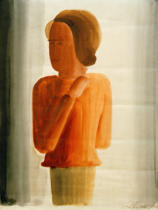 Oskar Schlemmer - Red boy