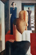 Oskar Schlemmer - Five Figures in a Room