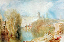 Joseph Mallord William Turner - Blick auf Warwick Castle