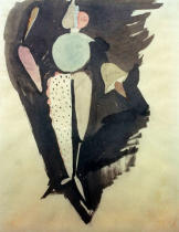 Oskar Schlemmer - The Abstract, c.1919
