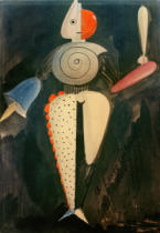 Oskar Schlemmer - The Abstract, c.1920