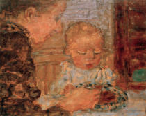 Pierre Bonnard - Mutter und Kind