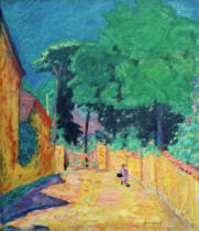 Pierre Bonnard - Gasse in Vernonnet