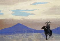 Nikolai Konstantinowitsch Roerich - The mother of the Genghis Khan
