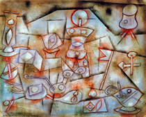 Paul Klee - Still-life with Props