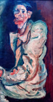 Chaim Soutine - Grotesque – Self-portrait of the artist