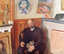 Pierre Bonnard - Portrait of Ambroise Vollard
