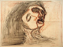 Edvard Munch - Head to Head (Man and Woman)