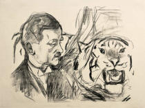 Edvard Munch - Der Tigerbändiger Richard Sawade