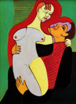 Ernst-Ludwig Kirchner - Great lovers (couple Hembus)