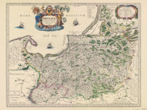 Johann Janssonius - East Prussia / Map