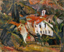 Chaim Soutine - Landschaft in Céret