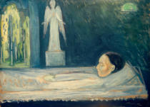 Edvard Munch - Angel of Death
