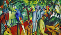 August Macke - Zoological garden I