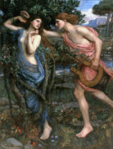 John William Waterhouse - Apollo Und Daphne
